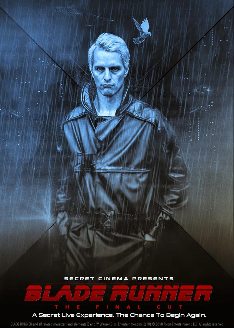Image: Jeffrey Mundell as Roy Batty by Dennis Grasse