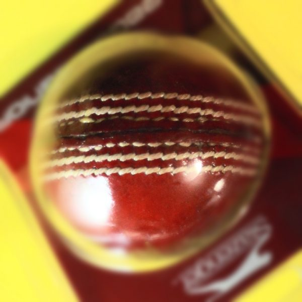 image: cricket ball