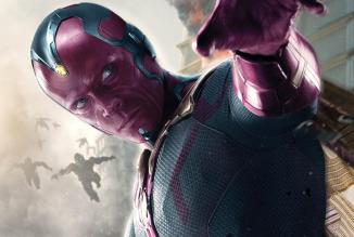 "Paul Bettany as Vision in ""Avengers"""