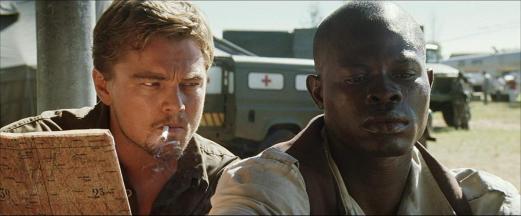 "Leonardo DiCaprio as Danny Archer in ""Blood Diamond"""