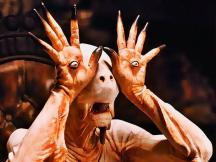 "Doug Jones as Pale Man in ""Pan's Labyrinth"""