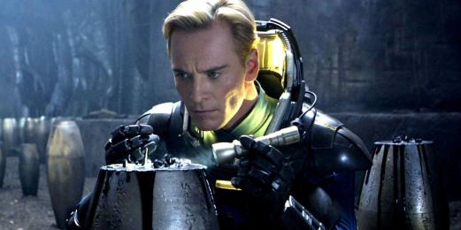 "Michael Fassbender as David in ""Prometheus"""